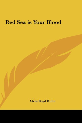 9781161351644: Red Sea is Your Blood