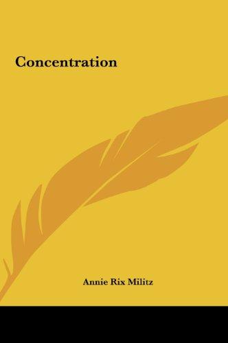 9781161354904: Concentration