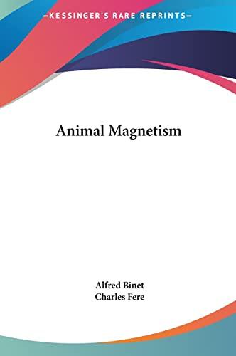 9781161364262: Animal Magnetism