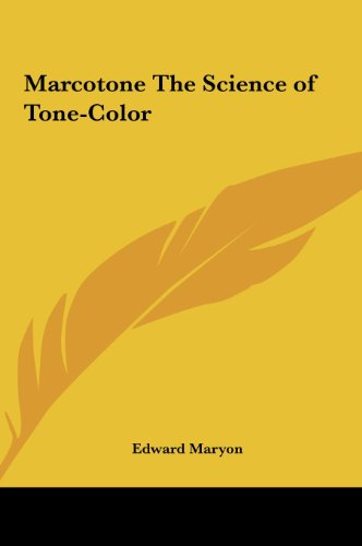 9781161369205: Marcotone The Science of Tone-Color