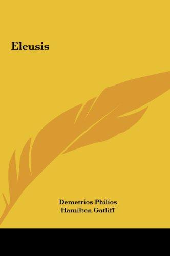 9781161369830: Eleusis