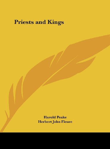 9781161373226: Priests and Kings