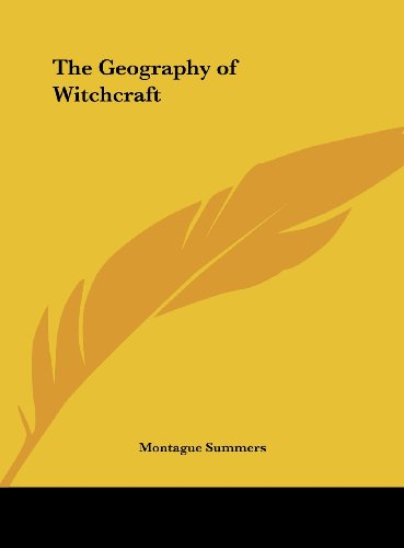 9781161376517: The Geography of Witchcraft