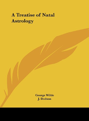9781161379594: A Treatise of Natal Astrology