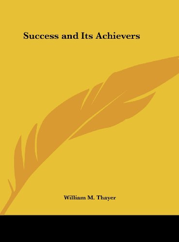9781161386790: Success and Its Achievers