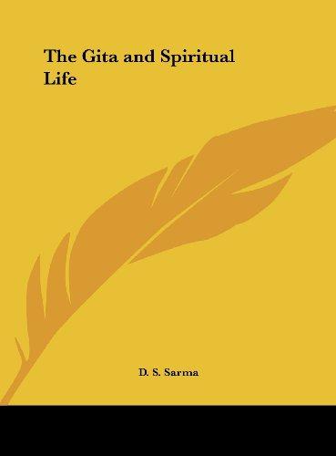 9781161387124: The Gita and Spiritual Life
