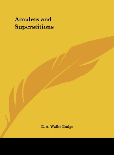 9781161388268: Amulets and Superstitions