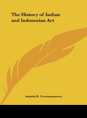 9781161388367: The History of Indian and Indonesian Art