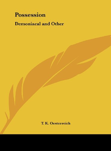 9781161389135: Possession: Demoniacal and Other