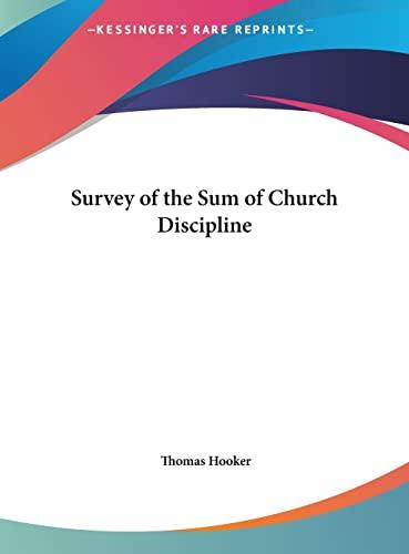 9781161398373: Survey of the Sum of Church Discipline