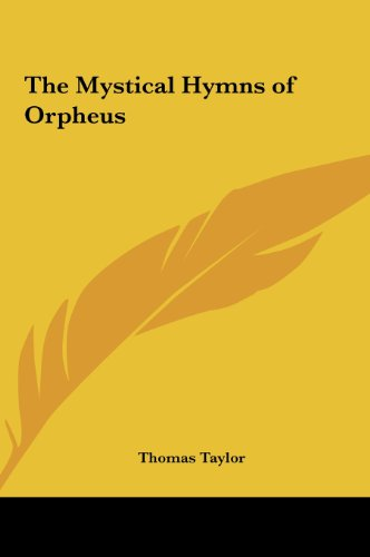 9781161400069: The Mystical Hymns of Orpheus