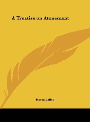 9781161402599: A Treatise on Atonement