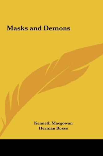 9781161407396: Masks and Demons