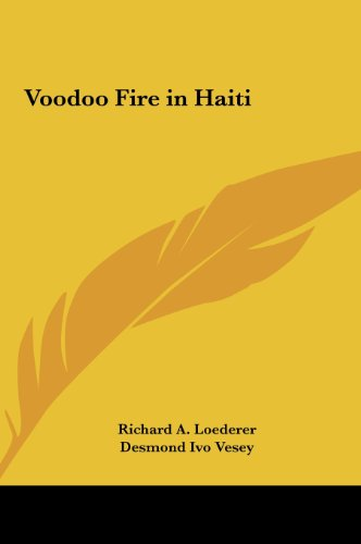 9781161411799: Voodoo Fire in Haiti