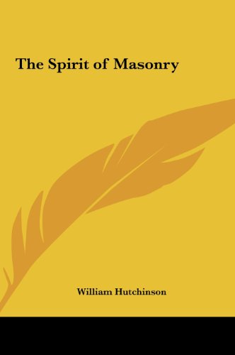 9781161411935: The Spirit of Masonry