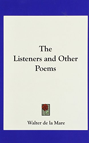 9781161415810: The Listeners and Other Poems