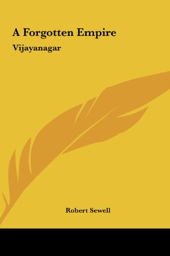 9781161417180: A Forgotten Empire: Vijayanagar