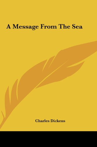 9781161418026: A Message From The Sea