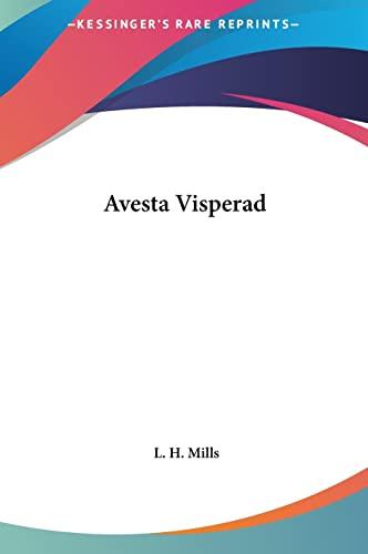 9781161422955: Avesta Visperad