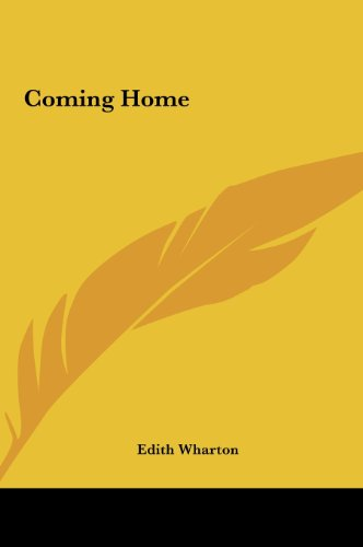 Coming Home (1161426825) by Edith Wharton