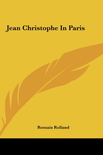 9781161437515: Jean Christophe In Paris