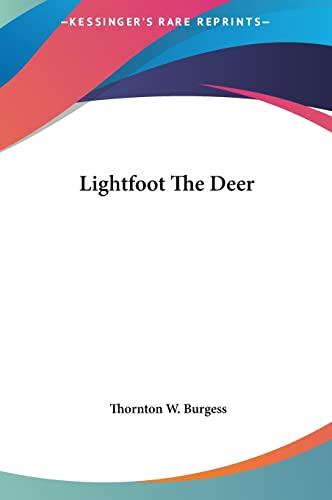9781161439786: Lightfoot the Deer
