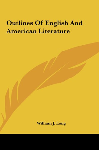 9781161447033: Outlines Of English And American Literature