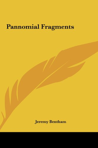 9781161447309: Pannomial Fragments