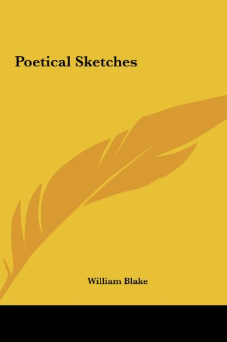 Poetical Sketches (1161449027) by Blake, William