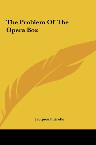 9781161449600: The Problem Of The Opera Box