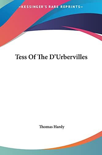 9781161455656: Tess Of The D'Urbervilles