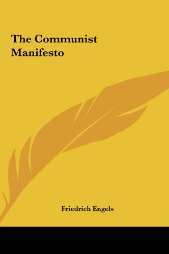 9781161459876: The Communist Manifesto