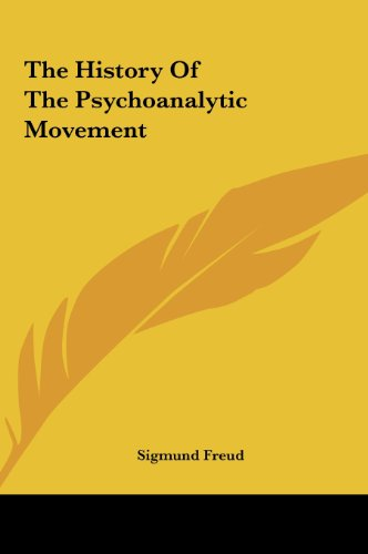 9781161466164: The History Of The Psychoanalytic Movement