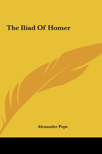 9781161466683: The Iliad Of Homer