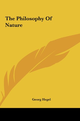 9781161473223: The Philosophy of Nature
