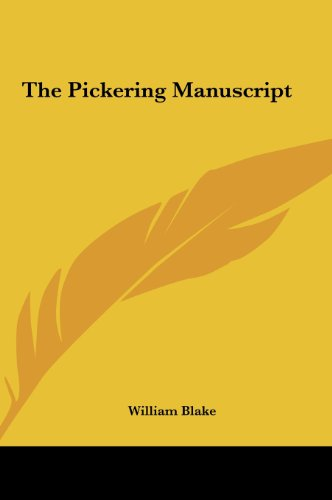 9781161473339: The Pickering Manuscript