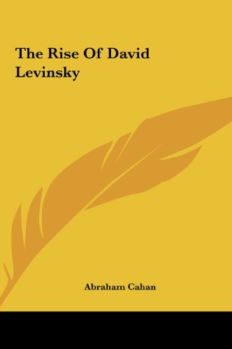 9781161475593: The Rise of David Levinsky