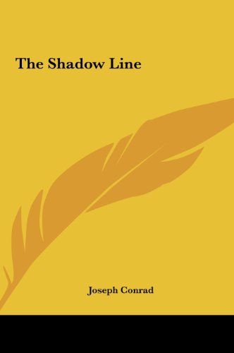 9781161476736: The Shadow Line
