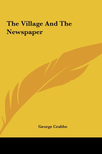 9781161480221: The Village and the Newspaper