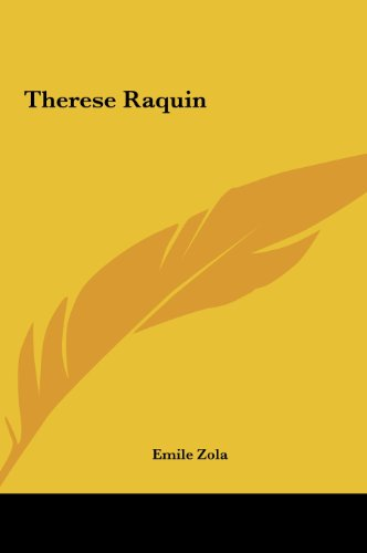9781161482218: Therese Raquin