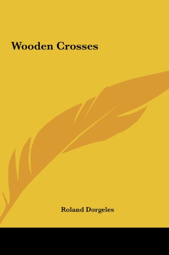9781161486377: Wooden Crosses