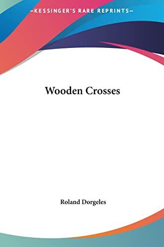 9781161486377: Wooden Crosses