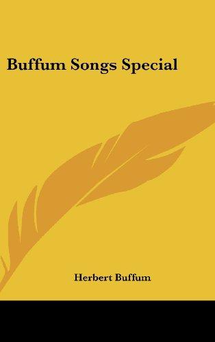 9781161492972: Buffum Songs Special
