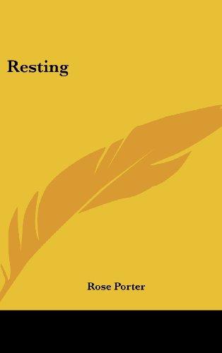 9781161495355: Resting
