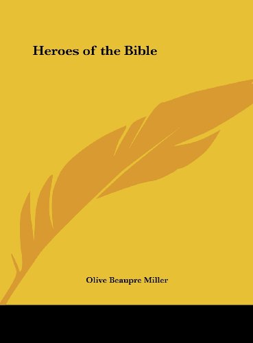 9781161497779: Heroes of the Bible