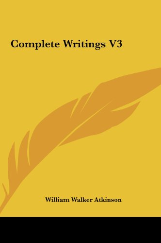 9781161499704: Complete Writings V3