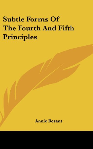 9781161503371: Subtle Forms Of The Fourth And Fifth Principles