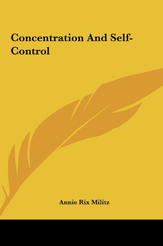 9781161512564: Concentration And Self-Control
