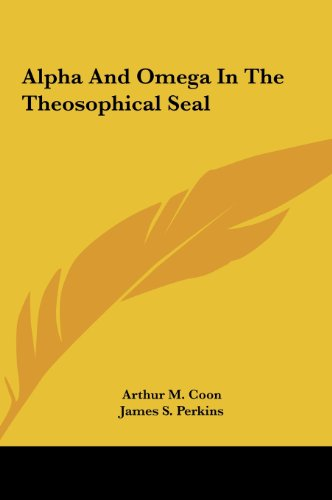 9781161515923: Alpha And Omega In The Theosophical Seal