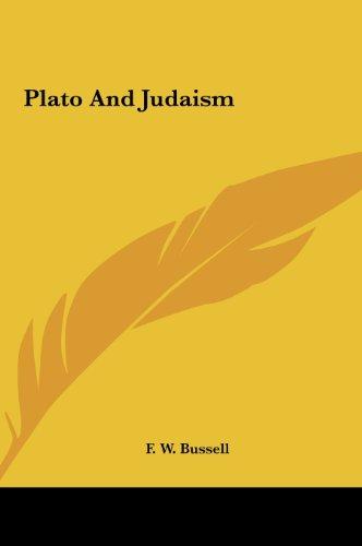 9781161520828: Plato and Judaism